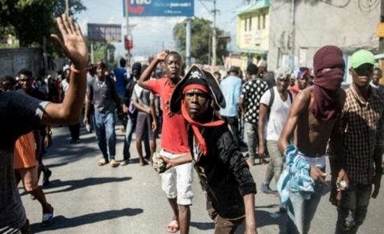 قتيلان في تظاهرة لمئات من عناصر الشرطة الهايتية وأنصارهم