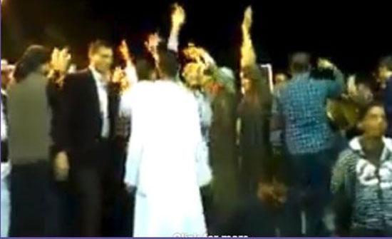 حفل زفاف يتحول لكارثة (فيديو)