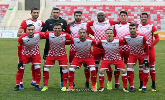 فريق شباب الأردن لكرة القدم يلتقي النجم الساحلي التونسي