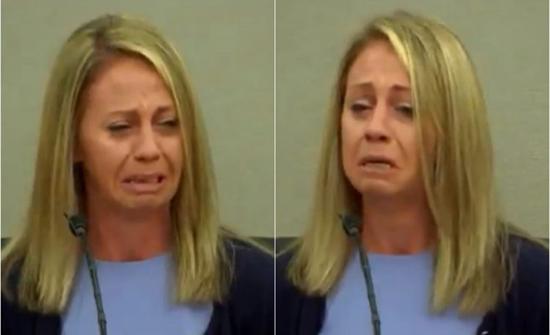 شاهد: بكاء شرطية أمريكية أثناء محاكمتها بتهمة القتل