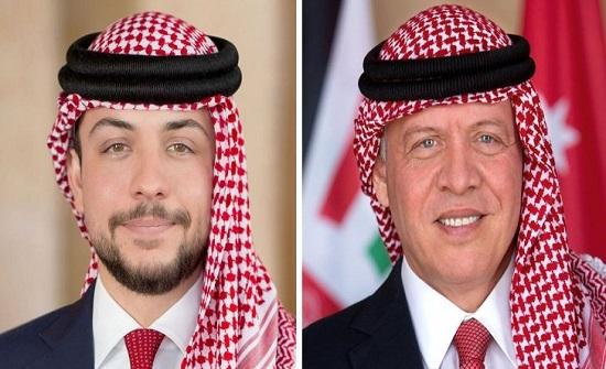 الملك وولي العهد يتلقيان التهاني بذكرى مئوية تأسيس الدولة الأردنية