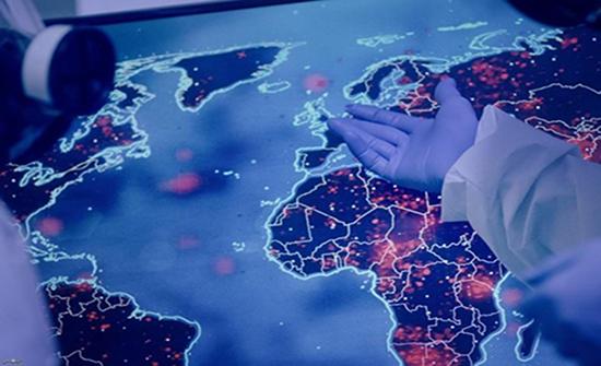 """""""جونز هوبكنز"""": العالم تخطى عتبة الـ90 مليون إصابة بكورونا"""