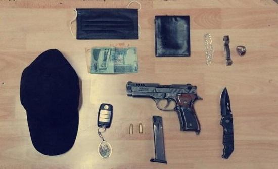 القبض على شخصين سطيا على صيدلية في عمان - صورة
