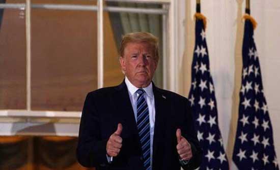 لارا ترامب تنفي إعادة تنصيب ترامب رئيسا في أغسطس