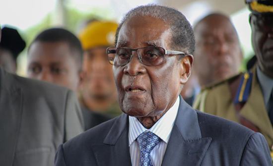 وفاة رئيس زيمبابوي السابق روبرت موغابي