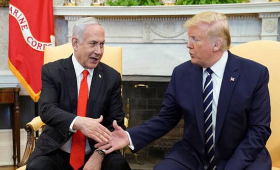 تل أبيب: نتنياهو وترامب تحدثا عن خطة السلام مع التركيز على الملف الإيراني