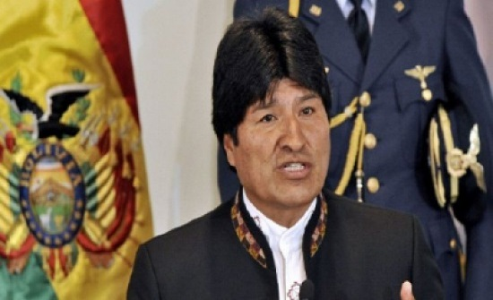 هبوط اضطراري لطائرة مروحية تقل الرئيس البوليفي