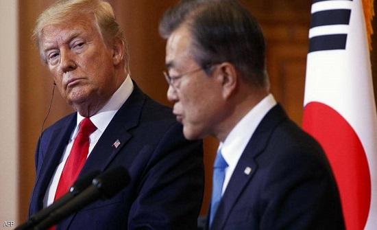 ترامب: رئيس كوريا الجنوبية ينهبنا.. وبايدن يتساهل معه