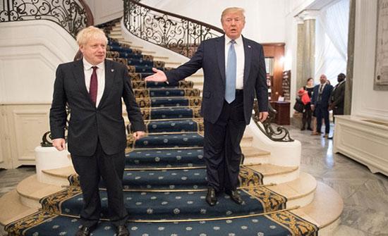 ترامب يتضامن مع جونسون: صديقي يعرف كيف ينتصر