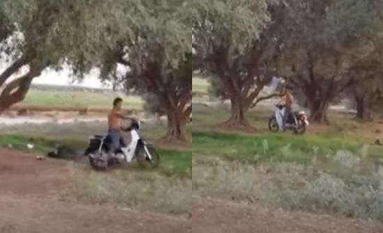 المغرب  ..  شاهد.. شاب يذبح صديقه تحت شجرة وامرأة تفضحه