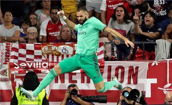 بنزيما يقود هجوم ريال مدريد أمام كلوب بروج