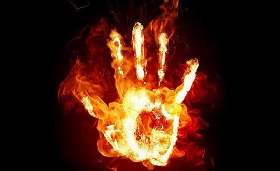 مصري يحرق شقيقه بسبب 16 دولار