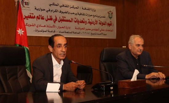 الحباشنة: الدولة الأردنية تأسست وفق مشروع عروبي وحدوي
