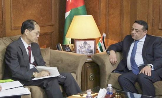 الداوود يؤكد عمق العلاقات التاريخية الأردنية اليابانية
