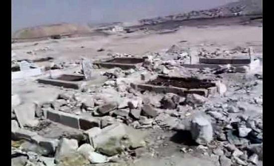 اعتداءات جديدة على مقبرة الرصيفة القديمة