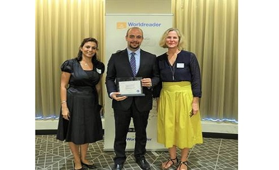 """وورلد ريدر"""" العالمية تكرّم أبوغزاله للترجمة والتوزيع والنشر"""