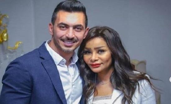 في شهر العسل .. شقيقة محمد رمضان على البحر مع زوجها