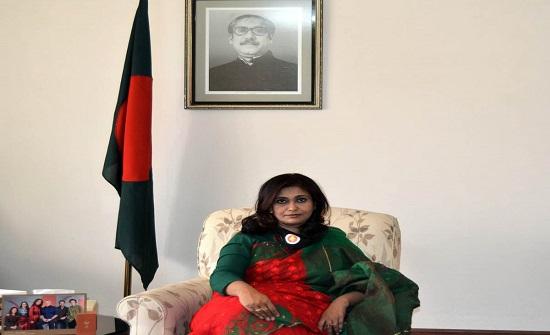 سفيرة بنغلاديش: الملك يلعب دورا مهما في توضيح صورة الاسلام الحقيقية