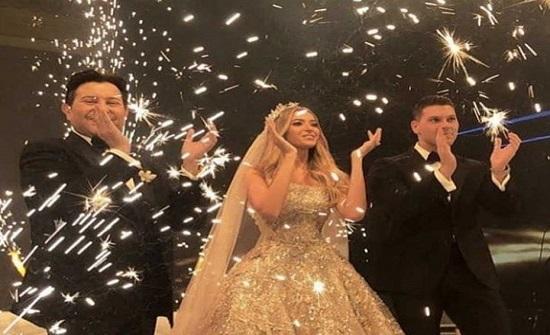 بعدما أبهرت الجميع في حفل زفافها.. شاهدوا عروس ابن هاني شاكر من دون مكياج