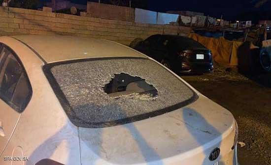 مقذوف حوثي يصيب 5 مدنيين في قرية سعودية
