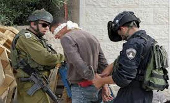 الاحتلال الاسرائيلي يعتقل 43 فلسطينيا بالضفة الغربية