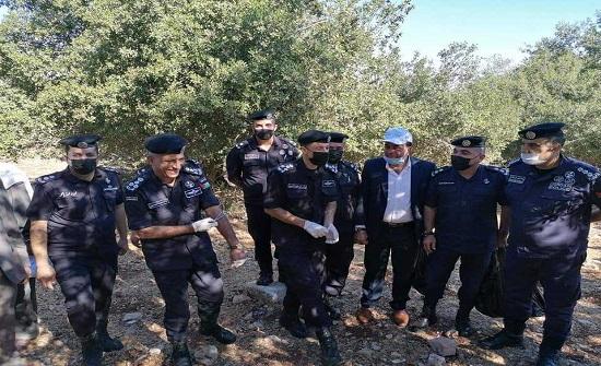 الشرطة المجتمعية تنفذ حملة بيئية بغابات برقش