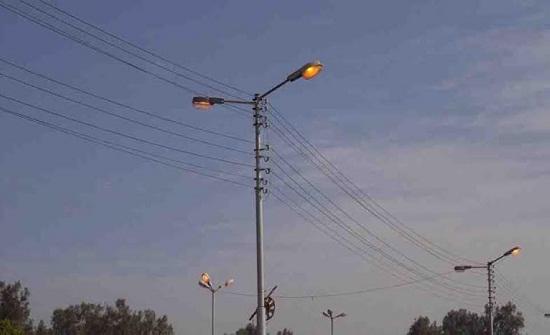 فصل مبرمج للتيار الكهربائي عن مناطق في اربد وعجلون غداً