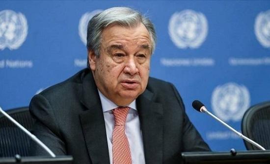 الأمين العام للأمم المتحدة يدعو لوضع خطة عالمية للتلقيح ضد كورونا