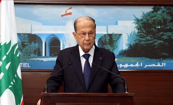 عون يبدي استعداده لتحقيق مطالب الشعب الإصلاحية