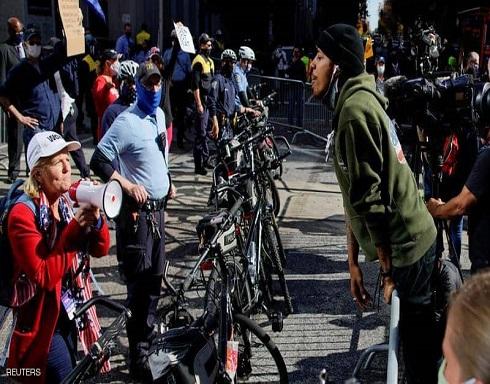 مناوشات بين أنصار ترامب وبايدن في فيلادلفيا