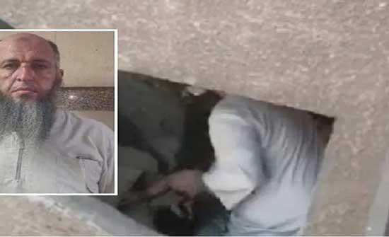 شاهد.. الجزار المصري الذي اعتدى على امرأة بالضرب المبرح بعدما طالبته بدفع إيجار المحل