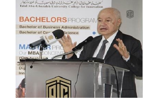 """كلية أبوغزاله تنظم ورشة عمل بعنوان """"رحلة نحو مدارس التفكير والابتكار"""""""