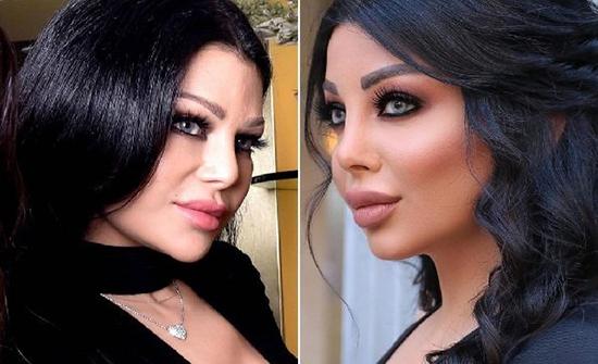 بعد دعمها للمثليين …شقيقة هيفاء وهبي تستعرض مفاتنها بفستان من ذهب .. شاهد