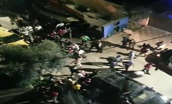شاهد بالفيديو : وفاة بمشاجرة في منطقة اليادودة
