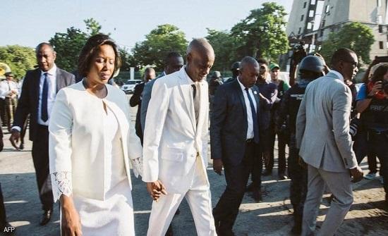 """أرملة رئيس هايتي تتحدث من المستشفى عن """"دافعهم"""" لقتله"""