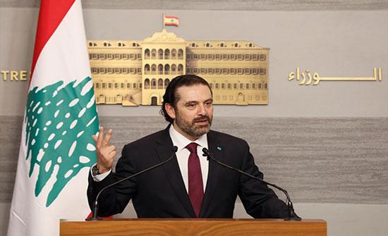"""الحريري: يجب تحميل إسرائيل مسؤولية """"الاعتداء الفاضح"""" على ضاحية بيروت"""
