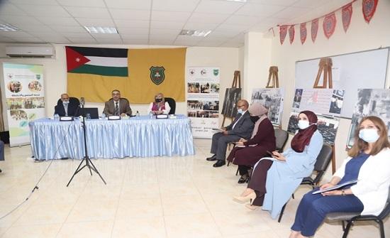 """احتفالية بذكرى الاستقلال في """"الأردنية"""""""