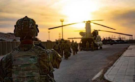 استهداف رتل دعم لوجستي تابع للتحالف الدولي غربي العراق