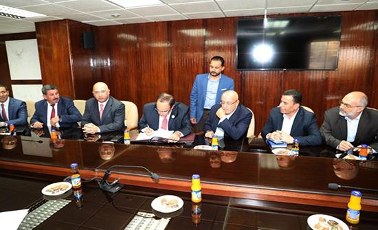 اتفاقية بين وزارة المياه وشركة البوتاس