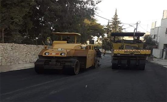بلدية المفرق: مشروع خلطة اسفلتية بكلفة مليون و200 ألف دينار
