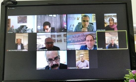 """عمان العربية وملتقى الأعمال الفلسطيني الأردني في ورشة عمل """"تحديات القطاع الاقتصادي"""""""