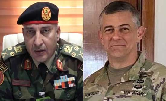 """قائد """"أفريكوم"""" يدعو إلى الانسحاب الفوري للقوات الأجنبية من ليبيا"""