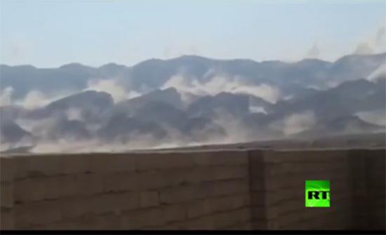 بالفيديو : انهيارات جبلية إثر زلزال جنوب إيران