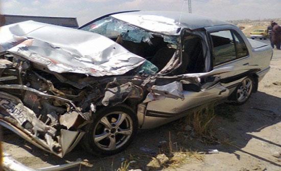 وفاة وإصابة سبعة آخرين إثر حادث تدهور في  العقبة