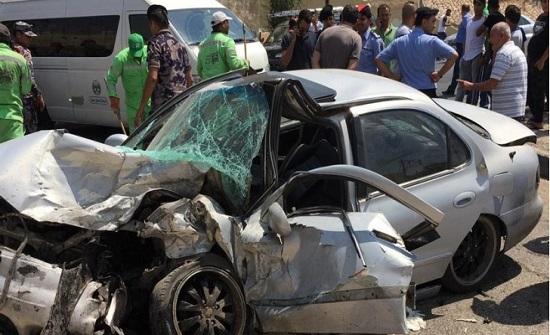 الامن : ٤٨٧ وفاة في حوادث الطرق خلال 2019