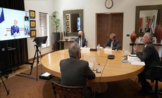 الملك يلقي كلمة في المؤتمر الدولي الثالث لدعم لبنان