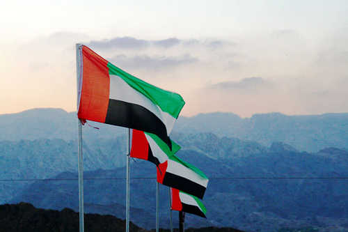 الامارات تحتفل بالعيد الوطني ال49