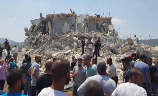 الاحتلال يهدم 5 مساكن في السواحرة شرق القدس