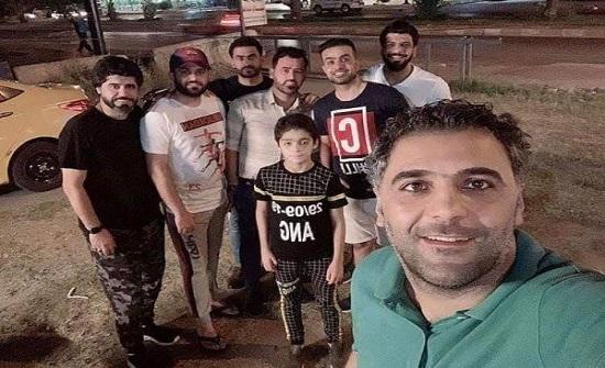 تجليات إنسانية للاعبي ومدربي العراق في زمن كورونا