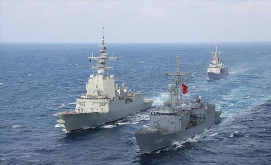 الدفاع التركية تعلن إجراء تمرين بحري مع الناتو